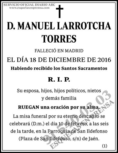 Manuel Larrotcha Torres